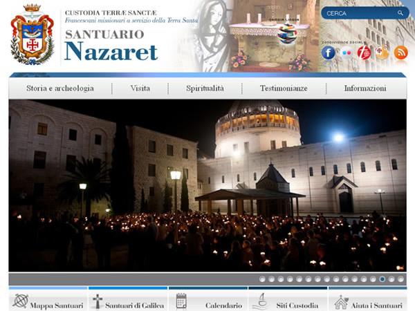 Una nuova guida virtuale al santuario che proietta Nazaret nel mondo