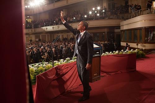 Barack Hussein Obama tende la mano ai musulmani