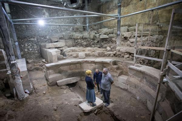 C'è un teatro romano nel cuore di Gerusalemme