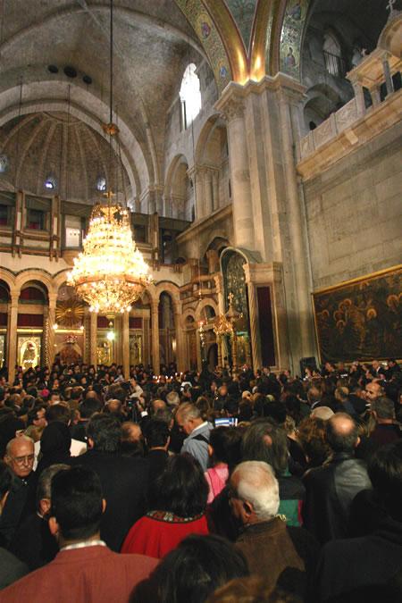 Gerusalemme per l'unità dei cristiani