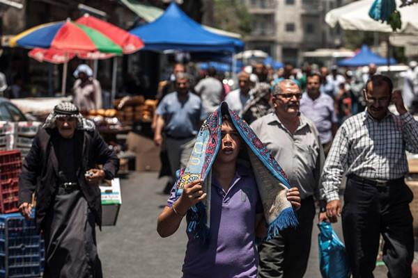 Territori palestinesi, i dati sulla popolazione al 2013