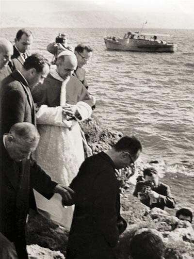 Paolo VI in Terra Santa, nei ricordi di un testimone milanese