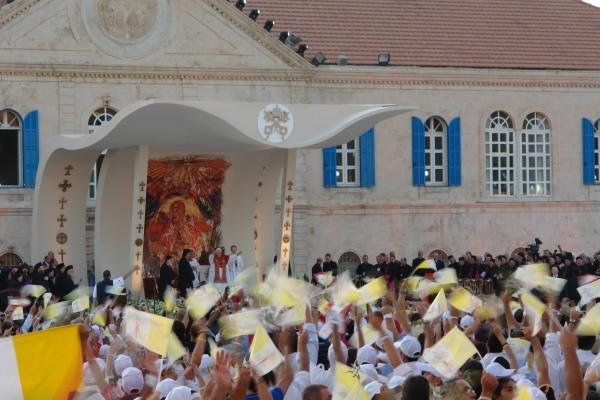A Bkerke la festa dei giovani col Papa