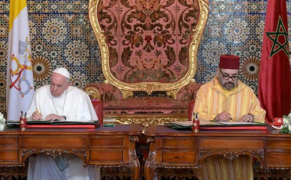 Da Francesco e Mohammed VI appello su Gerusalemme