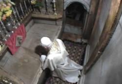 Pietro di nuovo al Sepolcro vuoto