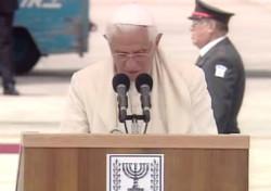 Tel Aviv, il Papa si congeda da amico