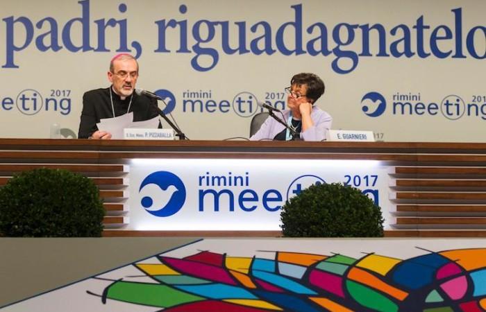 L'intervento di mons. Pierbattista Pizzaballa al Meeting di Rimini. (galleria fotografica: Meeting Rimini)