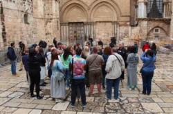 La serrata del Santo Sepolcro produce i primi effetti