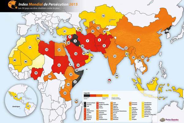 Il 2014 <i>annus horribilis</i> per la persecuzione dei cristiani