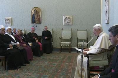 Il Papa ai leader religiosi israeliani: Incoraggiate un clima di fiducia