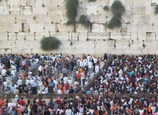 <i>Sukkot</i>: da 80 Paesi 5 mila cristiani sionisti in Israele