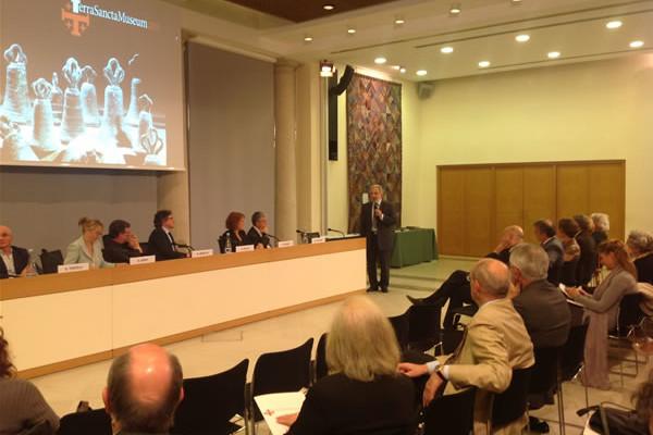 Presentato a Milano il progetto <i>Terra Sancta Museum 2015</i>