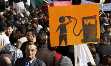 Anche i giordani scendono in piazza
