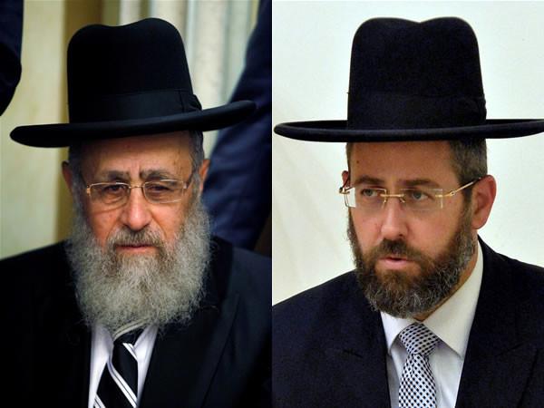 Eletti ieri a Gerusalemme i due nuovi rabbini capo d'Israele