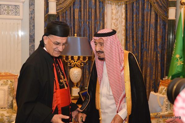 Storico! Il patriarca maronita Rai in Arabia Saudita