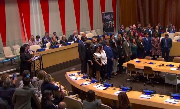 I giovani di Rondine all'Onu su diritti umani e pace