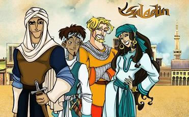 Saladino, eroe dei cartoni animati