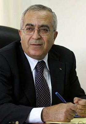 Fayyad ribadisce: lo Stato palestinese si imporrà coi fatti