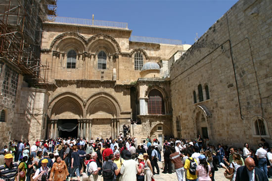 Il Santo Sepolcro e il monastero di Deir al-Sultan