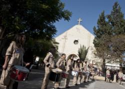 Alcune centinaia di cristiani di Gaza a Betlemme con Papa Francesco