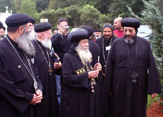I copti pensano alla successione di papa Shenuda