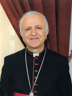 Shomali: «Vi aspettiamo in Terra Santa a condividere il nostro sogno di pace»