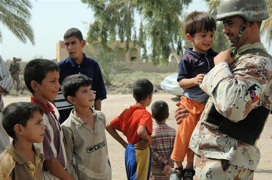 Giochi da ragazzi in Iraq
