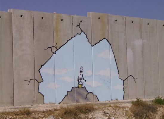 Muri, cancelli e sbarramenti in Cisgiordania