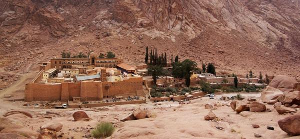 In Egitto riaperta la biblioteca del monastero di Santa Caterina
