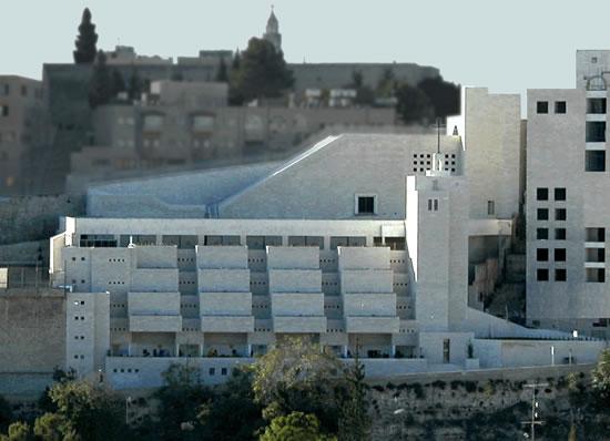 Betlemme. Immagine del <i>St. Francis Millennium Center</i>, che sorge non lontano dalla basilica della Natività.