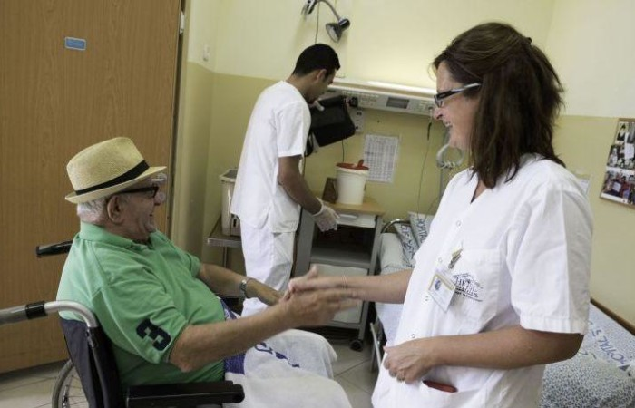 Il Saint Louis è un centro specializzato in cure palliative. (foto Nadim Asfour)