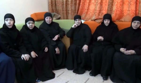 Dopo tre mesi di prigionia, tornano libere le monache di Maalula