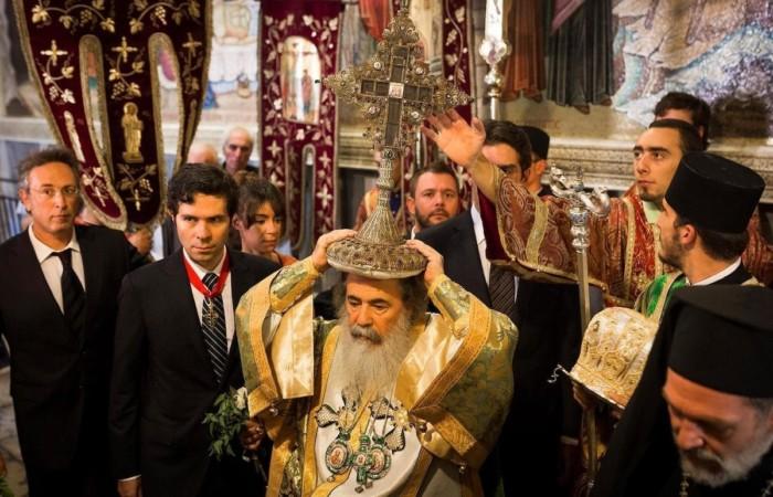 «Solidali con Theophilos III e le Chiese di Terra Santa»