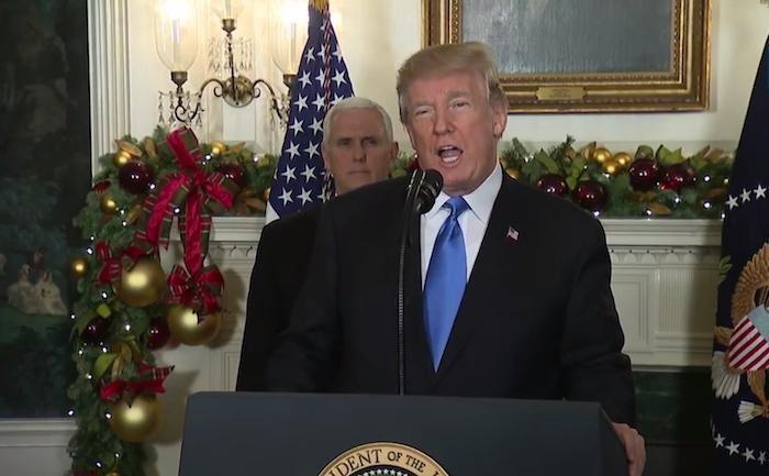 Trump riconosce Gerusalemme come capitale di Israele