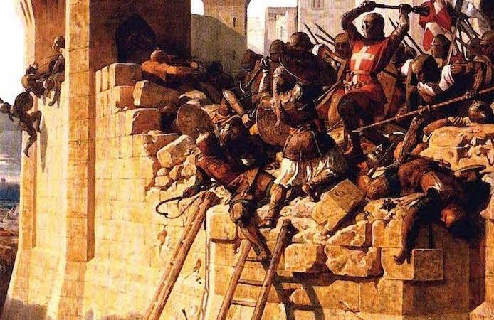 Un uomo disarmato alla Quinta crociata
