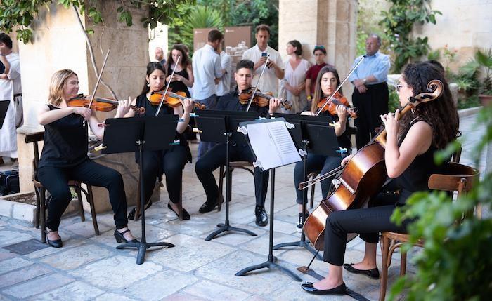 Intermezzo musicale degli studenti dell'Istituto Magnificat.