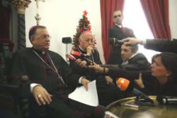 Monsignor Fouad Twal annuncia il viaggio papale in Terra Santa