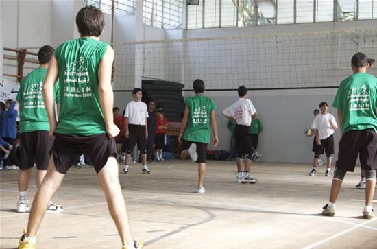 Ma alle <i> Palestiniadi</i> di Siblin c'erano anche i ragazzi della pallavolo.
