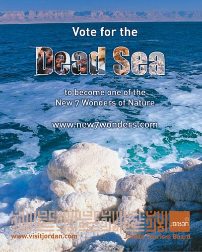 Mar Morto, il grande malato cerca voti… e una ricetta per guarire
