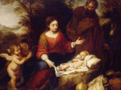 La Sacra Famiglia sulle rive del Nilo
