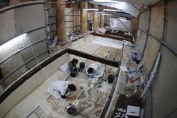 Il restauro dei mosaici costantiniani della Natività
