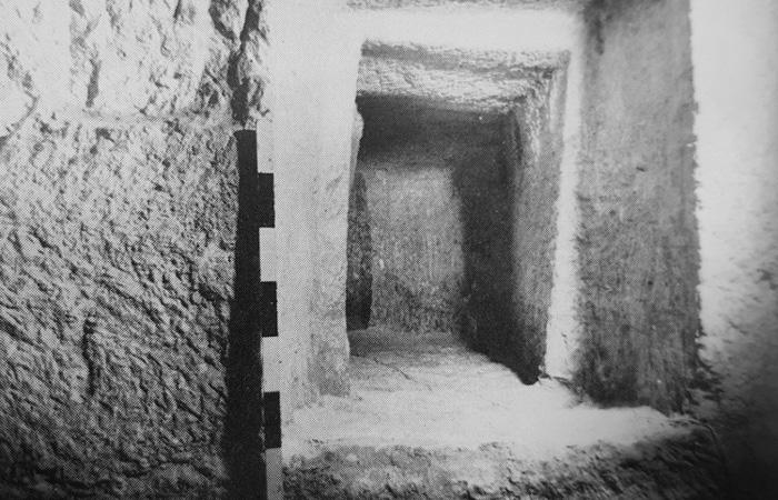 Vestigia archeologiche scoperte negli anni Sessanta del Novecento durante una campagna di sondaggi condotta dall'archeologo francescano fra Virgilio Corbo. (foto Studium Biblicum Franciscanum)