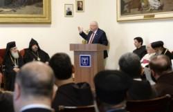 Video – Il presidente di Israele al convento di San Salvatore