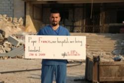 Gli assediati di Idlib al Papa: «Parli di noi a Putin!»
