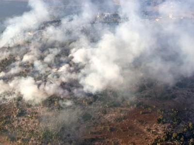 Afa e incendi in Terra Santa, fiamme anche sul Tabor
