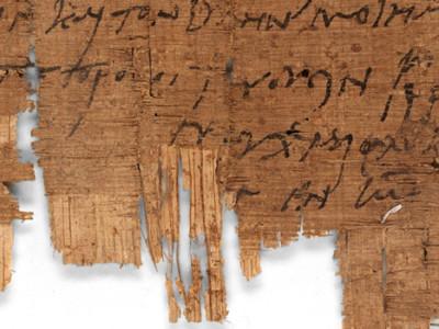 Da un papiro nuova luce sui primi cristiani in Egitto