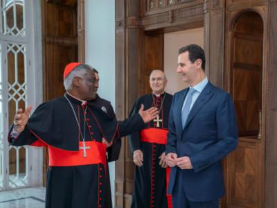 Siria, papa Francesco scrive al presidente Assad