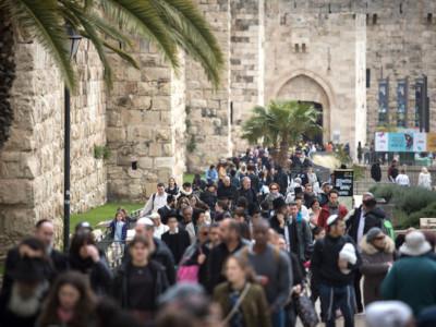 Arrivi in Israele, un 2019 roseo