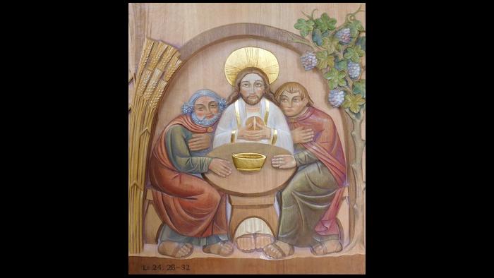 «Lo riconobbero allo spezzare del pane...»