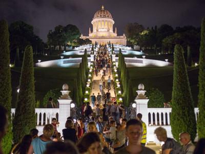 Baha'i in festa a Haifa